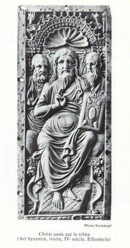 christ trone elfenbeim